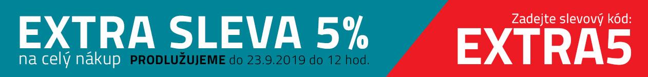Extra sleva 5% do 20.9.2019