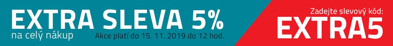 Extra sleva 5% do 15.11.2019