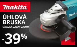 Úhlová bruska Makita GA9020K 2200W 230mm