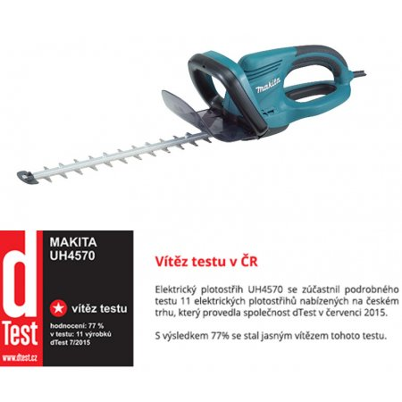 Nůžky na živý plot Makita UH4570 450mm 550W