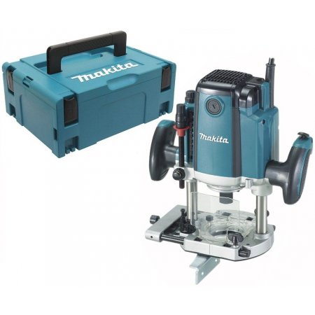 Horní frézka Makita RP1800FXJ, 1850W, 12mm, systainer