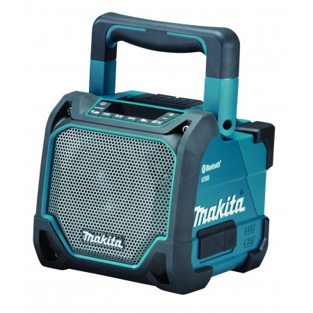 Aku přehrávač s USB a Bluetooth Makita,  Li-ion 10,8 V - 18 V - solo